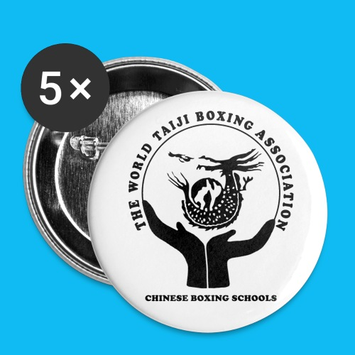 Buttons large 56 mm with WTBA Logo - Buttons large 56 mm