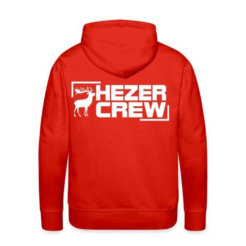 Hezer Hoodie (Rot) - Männer Premium Hoodie