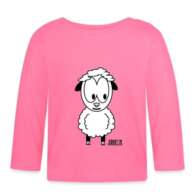 Babyshirt Wolle - lange mouwen
