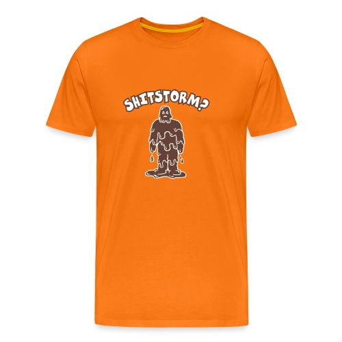 Shitstorm? - Männer Premium T-Shirt