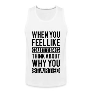 Motivation Tank Tops - Men's Premium Tank Top