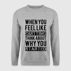 Motivation Hoodies & Sweatshirts - Men's Sweatshirt