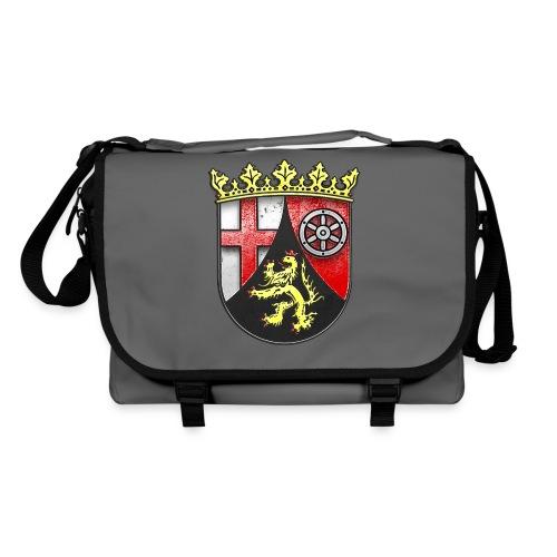 Rheinland Pfalz Wappen in Stein gemeißelt - Umhängetasche