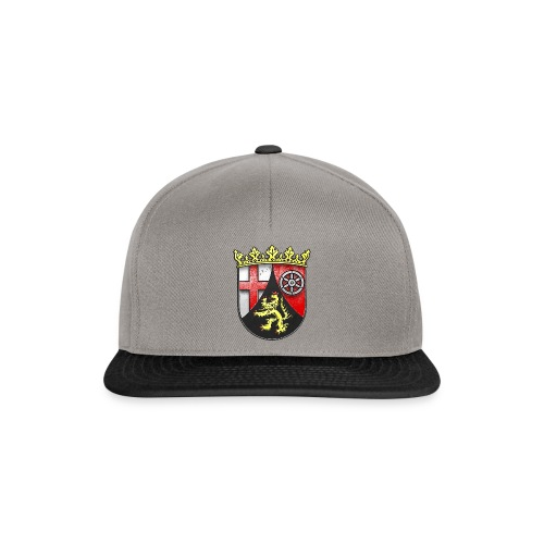 Rheinland Pfalz Wappen in Stein gemeißelt - Snapback Cap