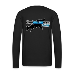 Official TAFishing Men's Long Sleeve Shirt  - Men's Premium Longsleeve Shirt