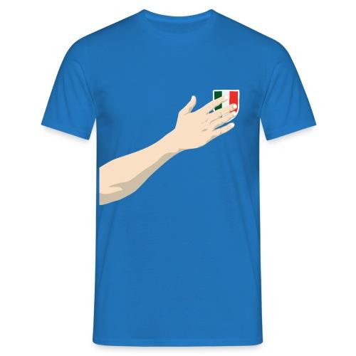 Mano sul cuore  - Maglietta da uomo