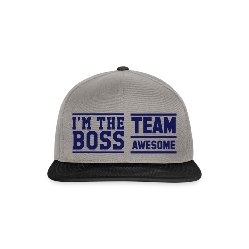 Team Awesome Boss - Snapback Cap