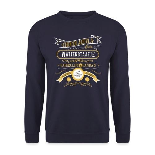 Wattenstaafje mannen sweater Russel - Mannen sweater