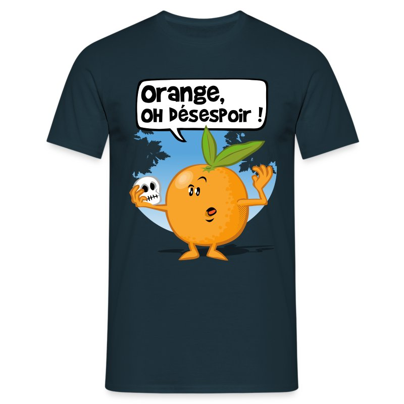 Orange oh désespoir - T-shirt Homme