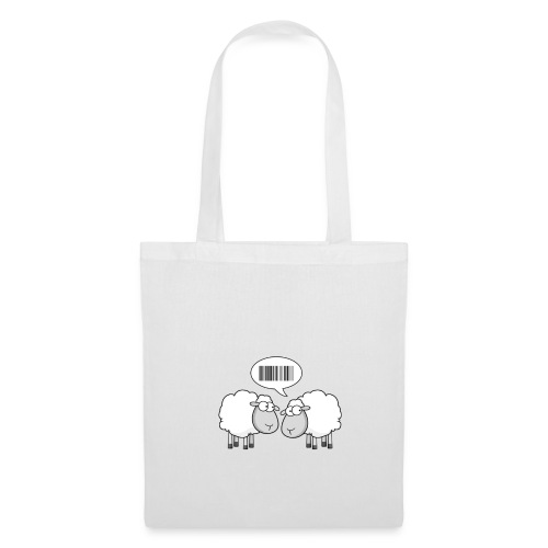 Baa Code Tote Bag - Tote Bag