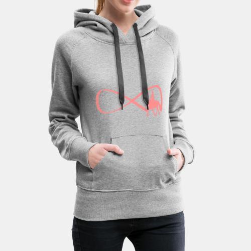 Forever Dressur Frauen Kapuzenpullover - Frauen Premium Hoodie