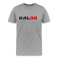 T-shirts ~ Herre premium T-shirt ~ Lys herre T-shirt, logo