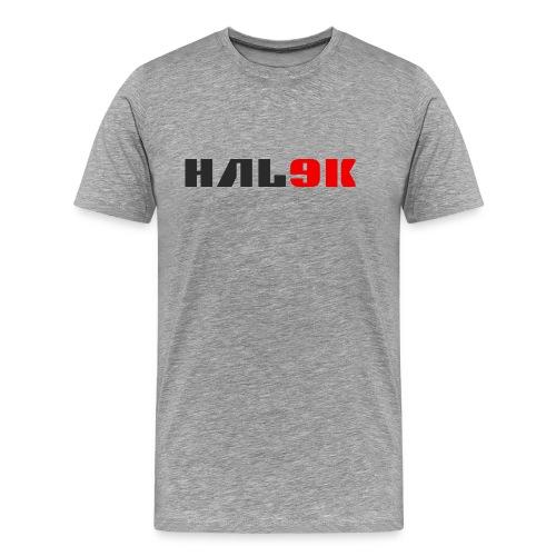 Lys herre T-shirt, logo - Herre premium T-shirt