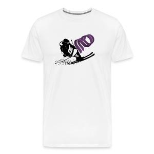 Afterbanger T - Hvit - Premium T-skjorte for menn