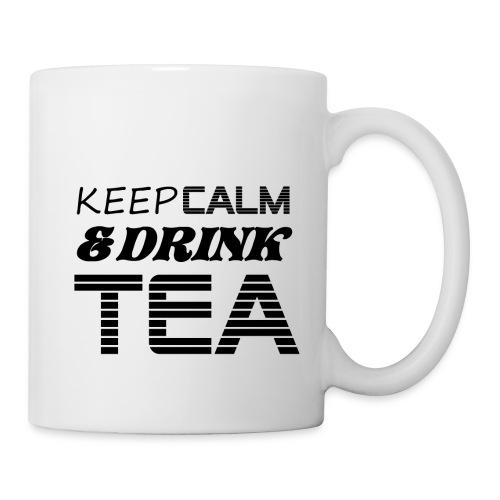 Tasse keep calm & drink tea - Mug blanc