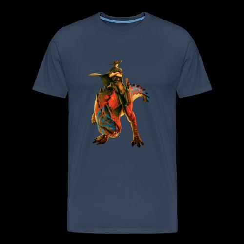 Cowboy T-Shirt (Men) - Men's Premium T-Shirt