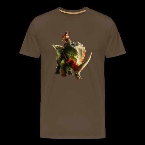 Cowgirl T-Shirt (Men) - Men's Premium T-Shirt