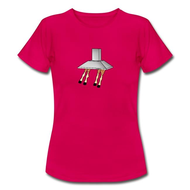 Girafzuigkap vrouwen t-shirt