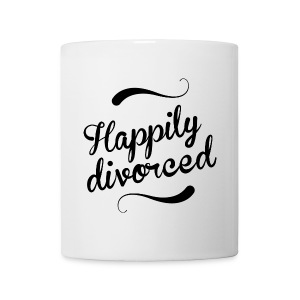 Happily divorced - Mug