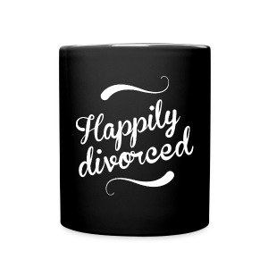 Happily divorced - Full Colour Mug