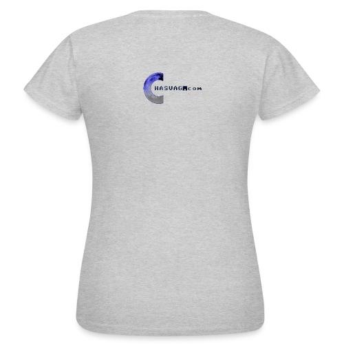 Chasvag.com logo - T-skjorte for kvinner