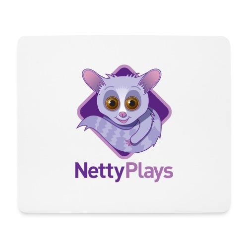 NettyPlays Logo mousepad - Mouse Pad (horizontal)