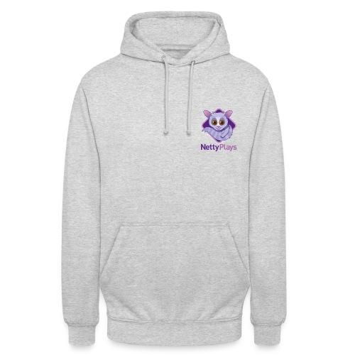 NettyPlays small Logo Grey Hoodie Womans - Unisex Hoodie