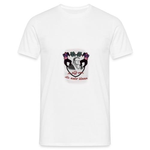 Hild@ schild shirt - Mannen T-shirt