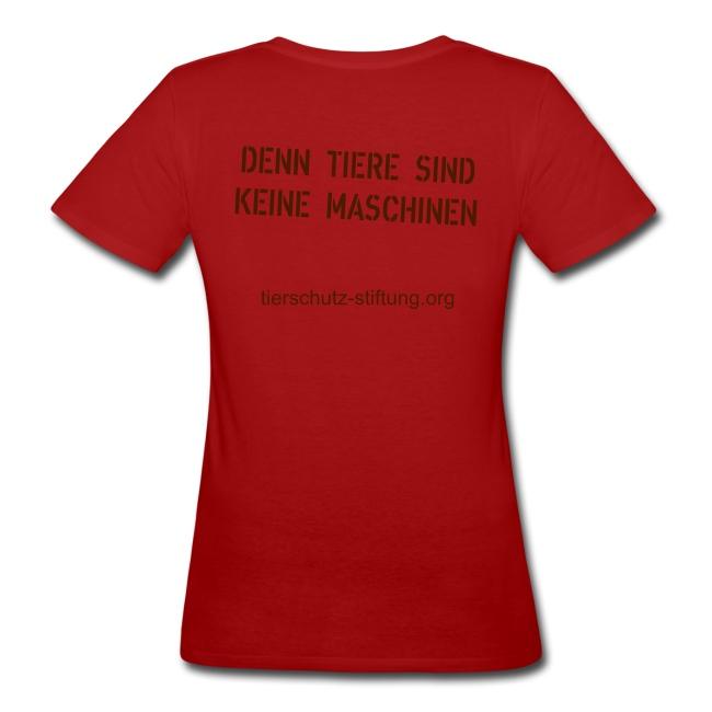 """T-Shirt """"Vegan for Erna"""" bio Girlie"""