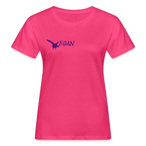 T-Shirt V Gans bio Girlie - Frauen Bio-T-Shirt