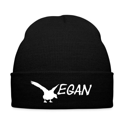 Mütze V Gans schwarz - Wintermütze