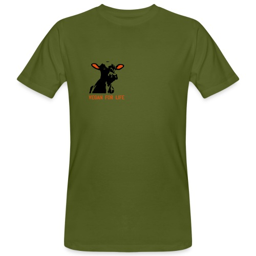 T-Shirt vegan for life bio - Männer Bio-T-Shirt