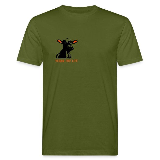 """T-Shirt """"vegan for life"""" bio"""