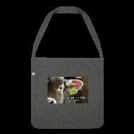 Taschen & Rucksäcke ~ Schultertasche aus Recycling-Material ~ Bio-Recyclingtasche