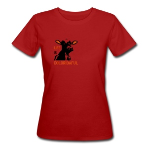 T-Shirt Coloridaful bio Girlie - Frauen Bio-T-Shirt