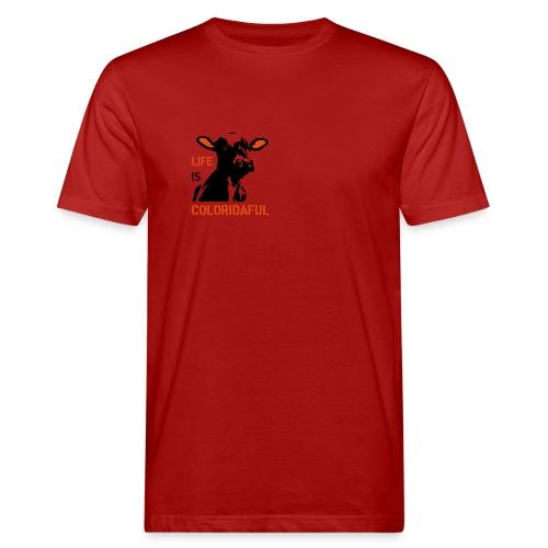 T-Shirt Coloridaful bio - Männer Bio-T-Shirt
