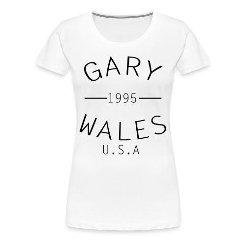 USA Female T-Shirt - Women's Premium T-Shirt