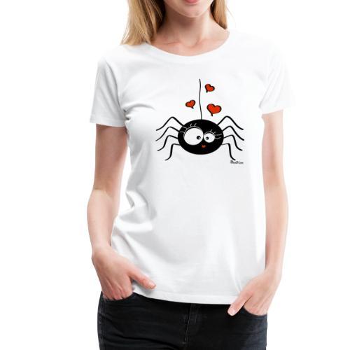 T-shirt P Femme Araignée Halloween Party (fille) - T-shirt Premium Femme