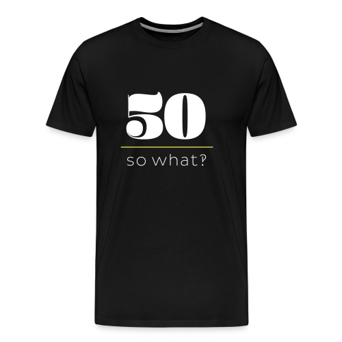 50er er - Männer Premium T-Shirt
