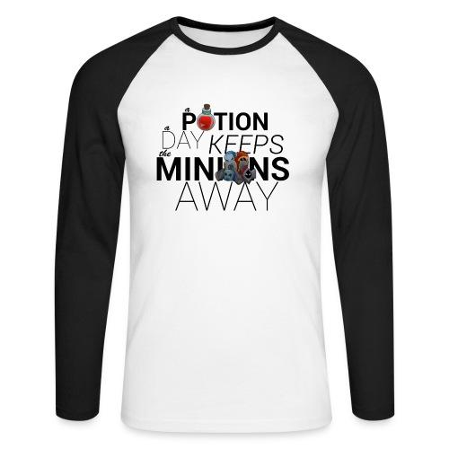 A Potion A Day - Men's Long Sleeve Baseball T-Shirt