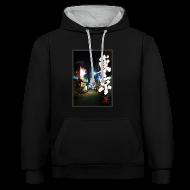 Pullover & Hoodies ~ Kontrast-Kapuzenpullover ~ Artikelnummer 104152563