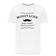 T-Shirts ~ Männer Premium T-Shirt ~ November Moustache Movement T-Shirts