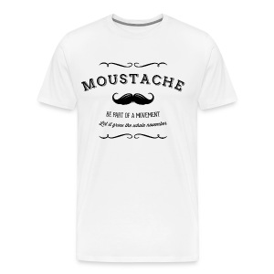 November Moustache Movement T-Shirts - Männer Premium T-Shirt