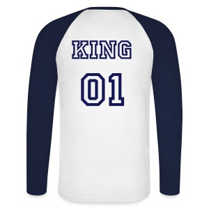 T-shirt baseball KING - T-shirt baseball manches longues Homme