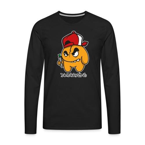 DKDrawing Graffiti Character Longleeve - Men's Premium Longsleeve Shirt