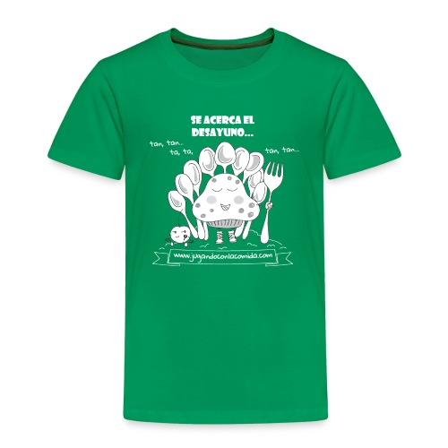 Se acerca el Desayuno... (white/kid) - Camiseta premium niño