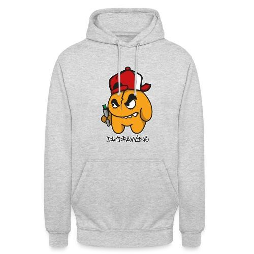 DKDrawing Graffiti Character Unisex Hoodie  - Unisex Hoodie