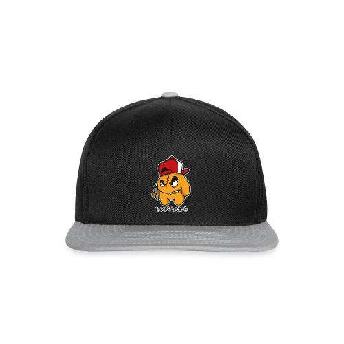 DKDrawing Graffiti Character Snapback Cap White Label - Snapback Cap