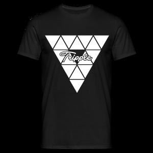 Tripple Triangular  - Mannen T-shirt