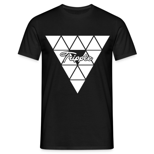 Tripple Triangular  - Mannen T-shirt